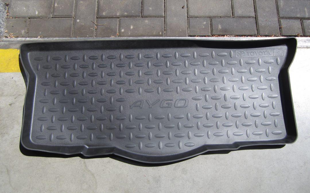 Gumová vana kufru – Aygo 75 % sleva
